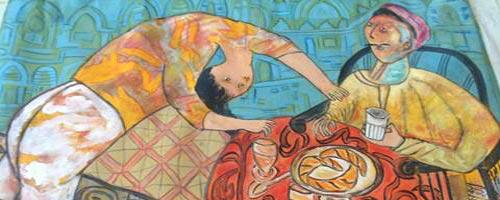 Ahmed Hajri - peinture