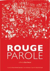 """Elyes Baccar """"Rouge parole"""""""