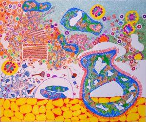 Ghada Chamma peinture