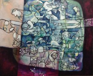 Majed Zalila peinture