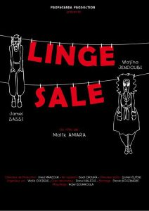 "Malik Amara ""Linge sale"""