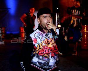 Mohamed Ali Ben Jemaa sur scène à Gafsa