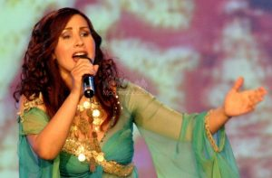 Nabiha Karaouli sur scène