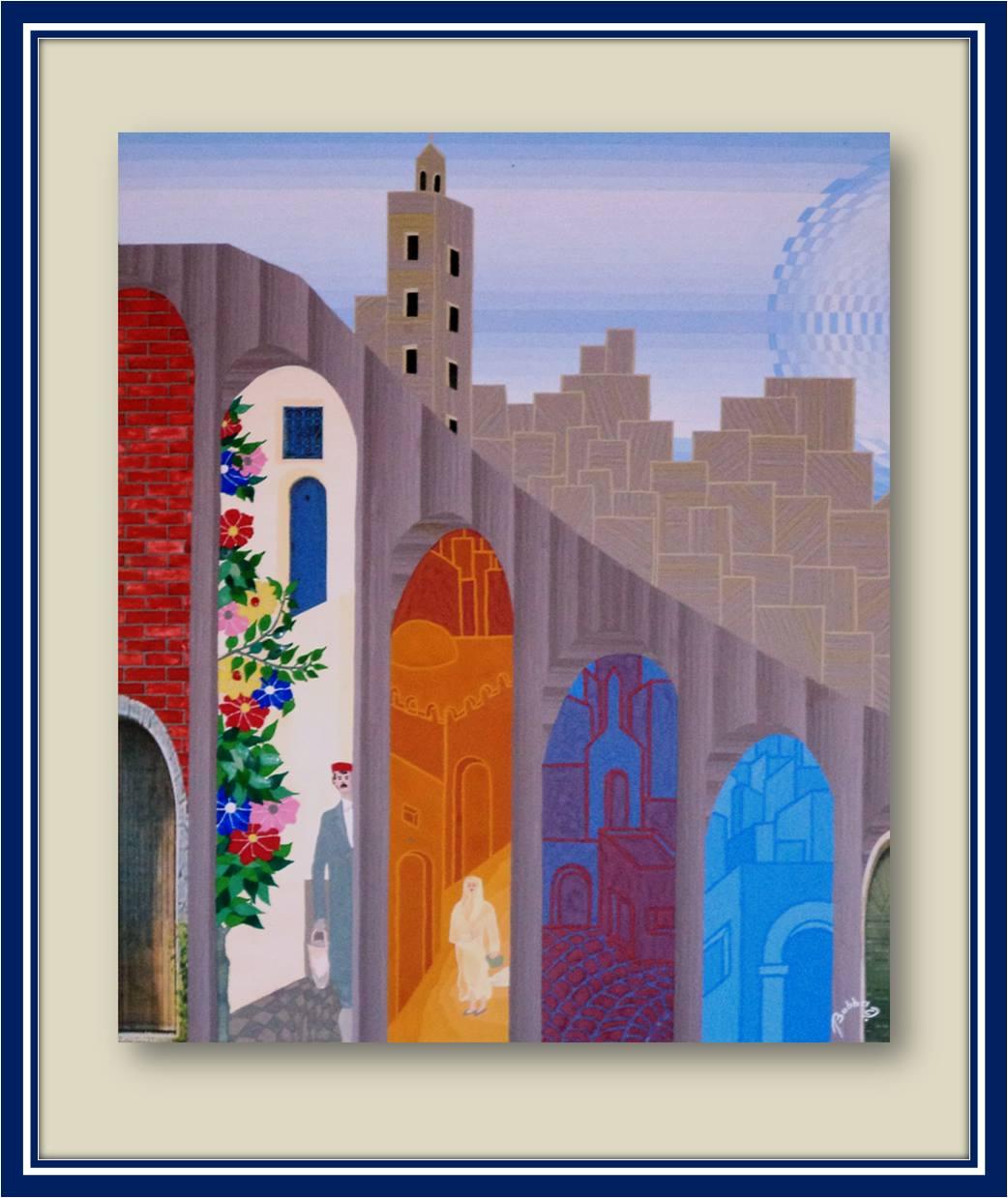 """Othman Babba """"les couleurs de la ville"""""""