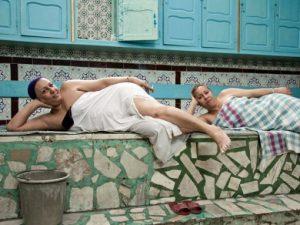 """Rania Douraï expo """"Regards posés sur les hammams de Tunis"""""""