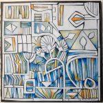 Ridha Ben Arab peinture