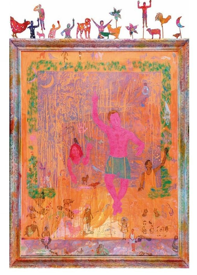 Slimen El Kamel/peinture